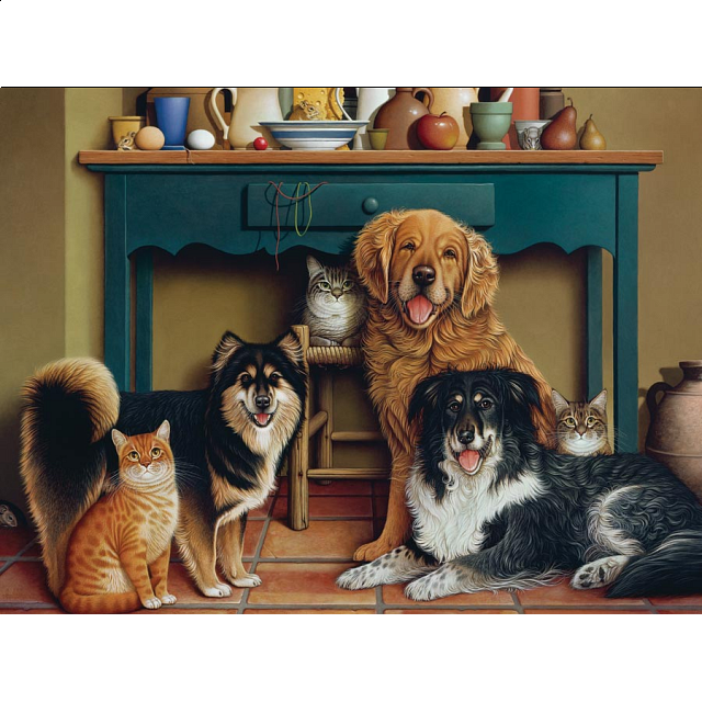 Family Portrait - Large Piece