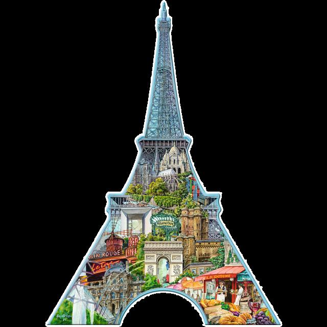 silhouette-puzzle-eiffel-tower-paris