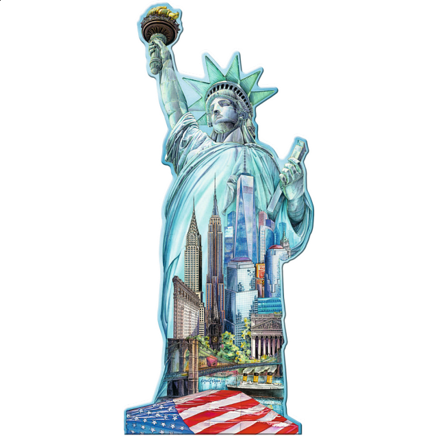silhouette-puzzle-statue-of-liberty-new-york