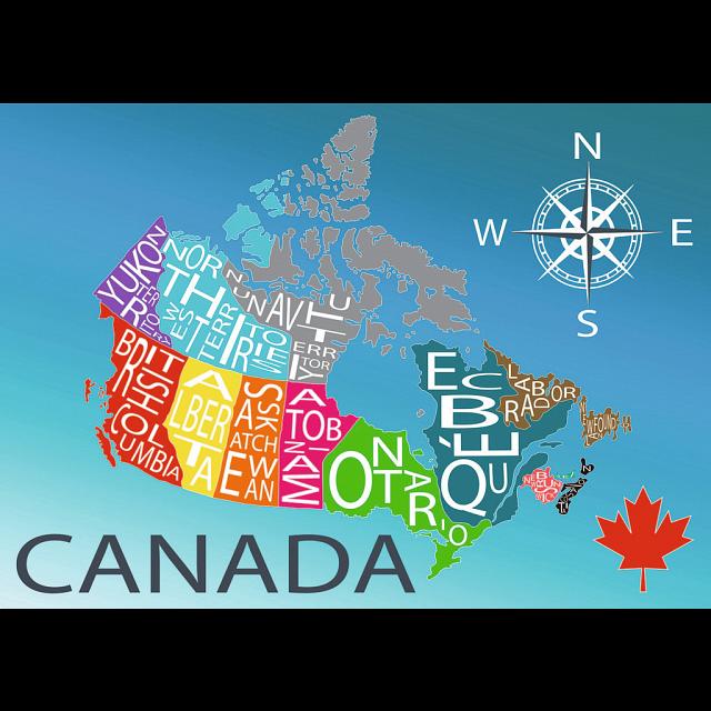 Colourful Canada