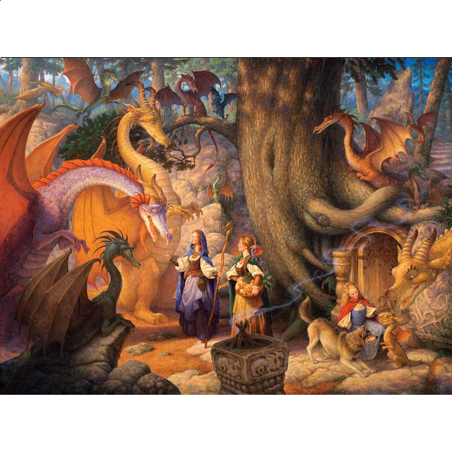 Confabulation of Dragons