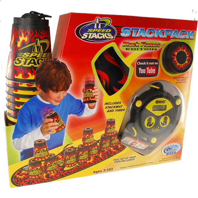 Speed Stacks: StackPack - Black Flames Edition