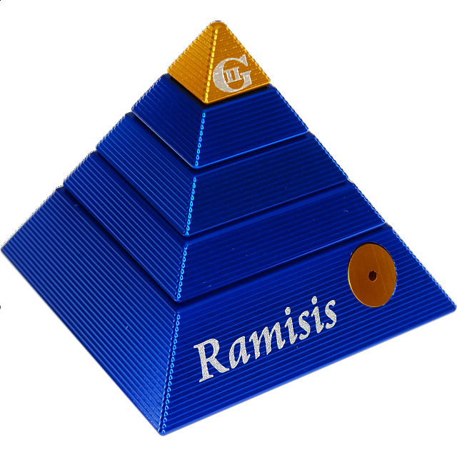 ramisis-gii-extreme-edition-blue-with-gold-capstone