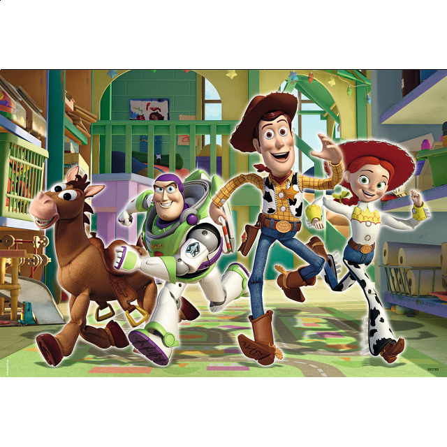 Disney Toy Story 2: The Toys at Day Care - 2 x 24 piece puzzles