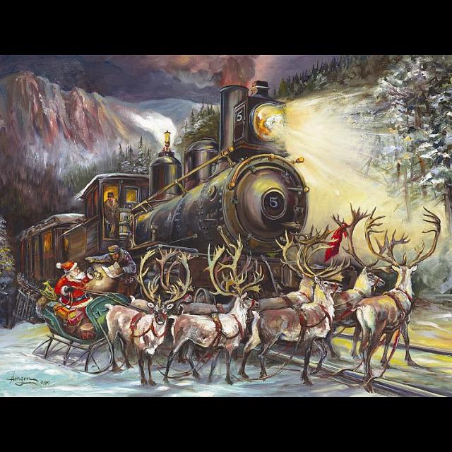 Santa Asking Directions