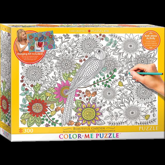 Color-Me Puzzle - Beautiful Garden