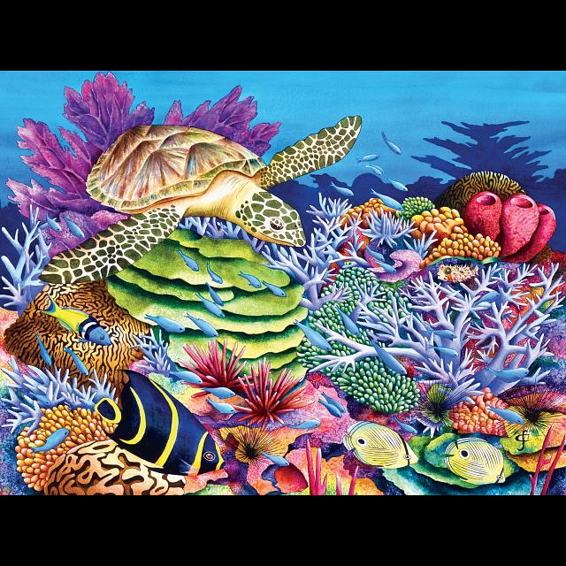 tropics-sea-turtle-cove-ez-grip-large-piece-puzzle