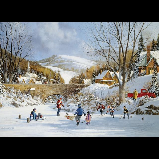 hockey-on-frozen-lake