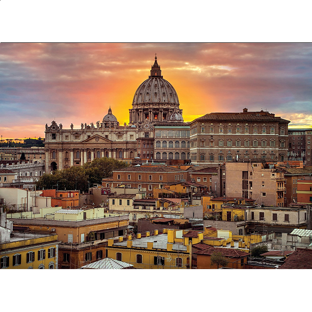 rome-at-the-sunset