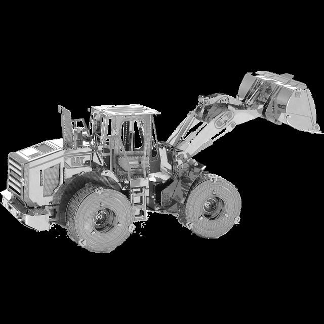 metal-earth-cat-wheel-loader
