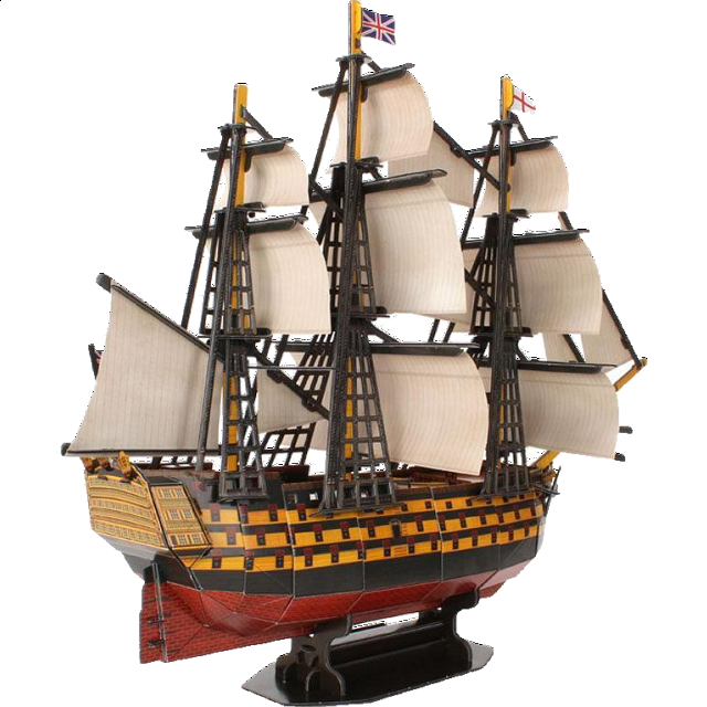 hms-victory-3d-jigsaw-puzzle
