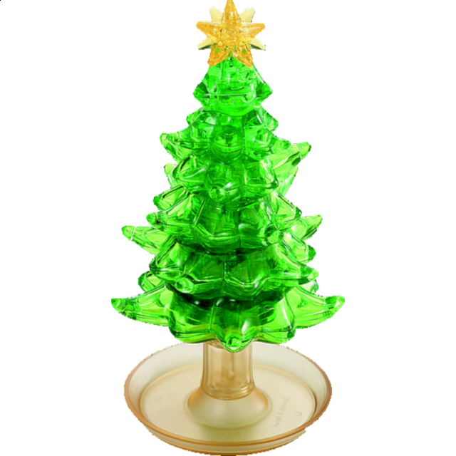 3D Crystal Puzzle Deluxe   Christmas Tree