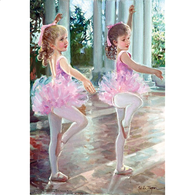 Image of Ballerinas Jigsaw Puzzle