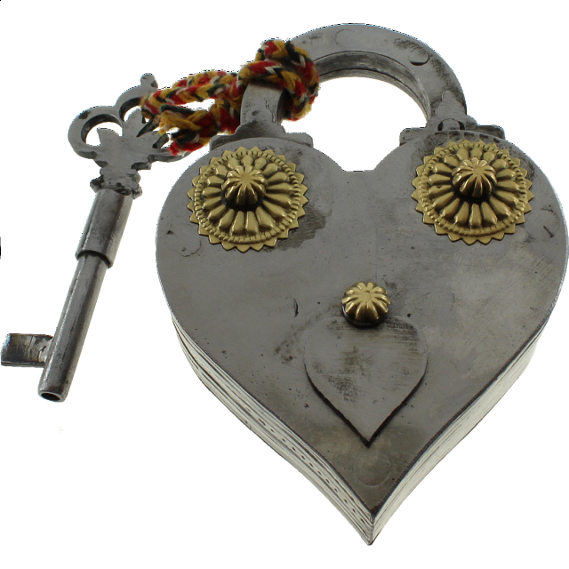 Heart Shape Iron Puzzle Lock - from $84.99