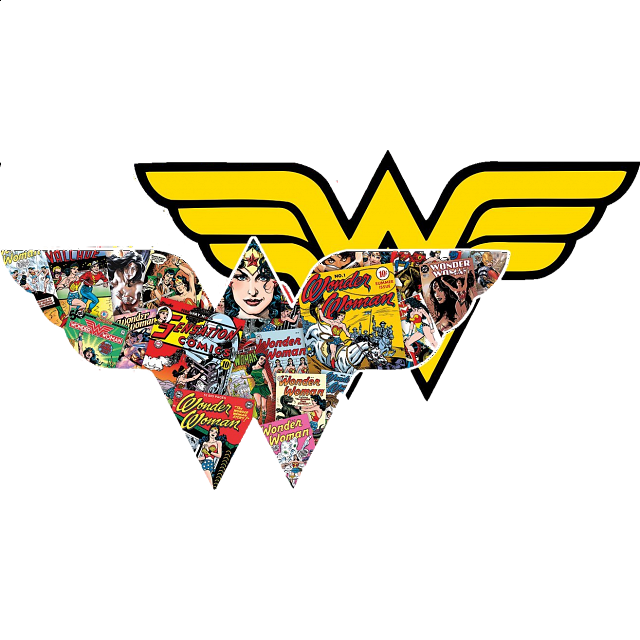 Wonder Woman - 2-sided Shaped Jigsaw Puzzle
