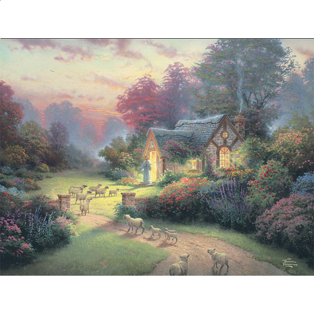 Thomas Kinkade: Inspirations - The Good Shepherd's Cottage