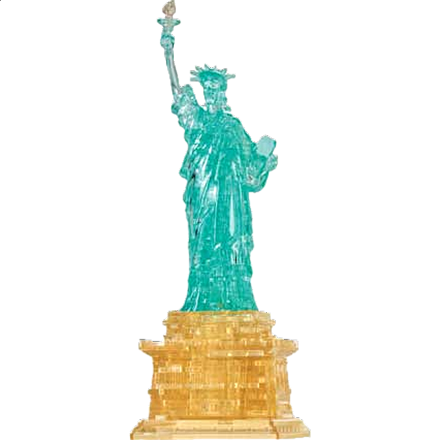 3d Crystal Puzzle Deluxe Statue Of Liberty More Puzzles Puzzle