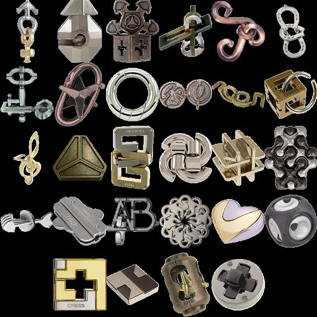 levels-1-3-a-set-of-35-hanayama-metal-puzzles