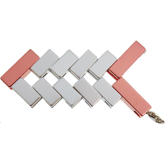 Mini Line Cube - Rose Gold - from $9.99