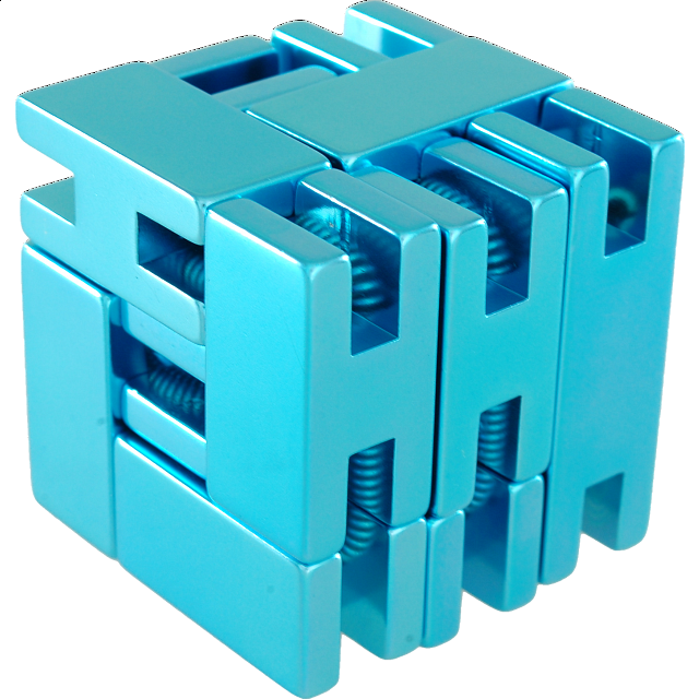 Line Cube - Blue - from $24.99