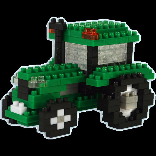 3d Pixel Puzzle Tractor