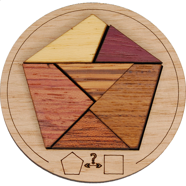 Minipuzzle - Pentagon