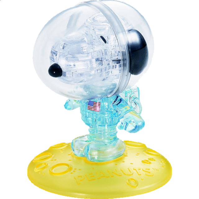 3D Crystal Puzzle - Snoopy Astronaut - from $21.99