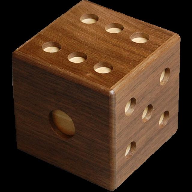 Karakuri Dice New Wood Puzzles Puzzle Master Inc