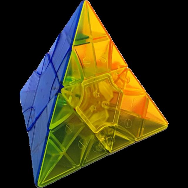2x2x2 Transform Pyraminx Standard - Clear Stickerless