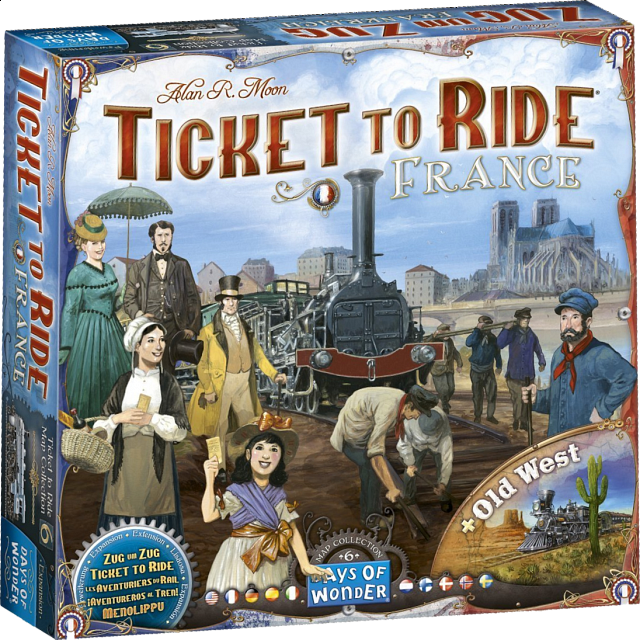 Ticket to Ride: France (Expansion)