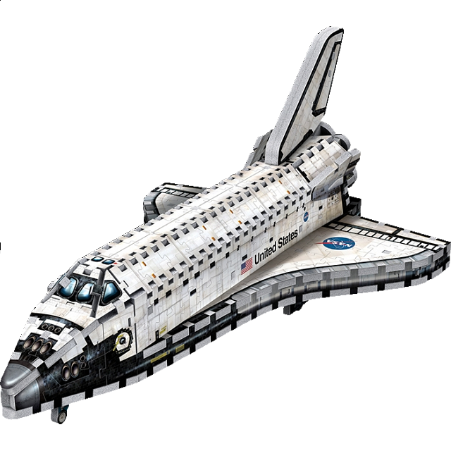 Space Shuttle Orbiter - Wrebbit 3D Jigsaw Puzzle | Jigsaws