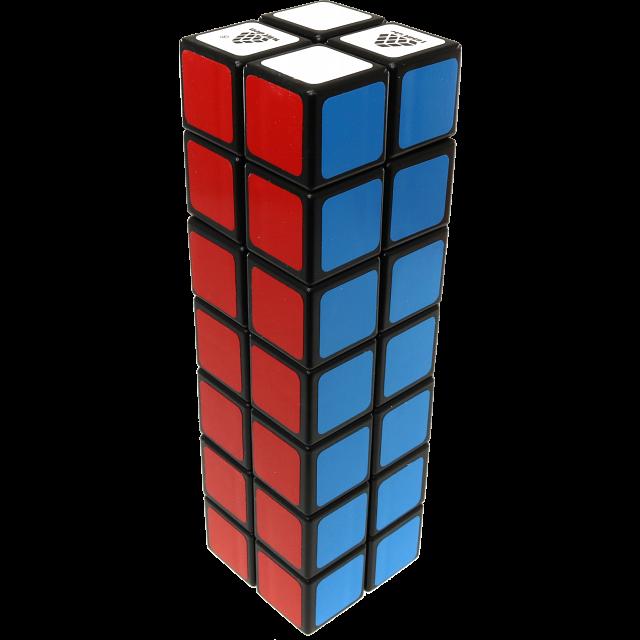 1688Cube 2x2x7 Cuboid - Black Body
