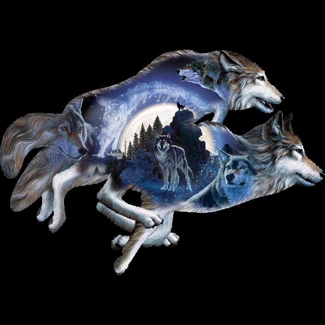 Moonlight | Warrior | Jigsaw | Puzzle