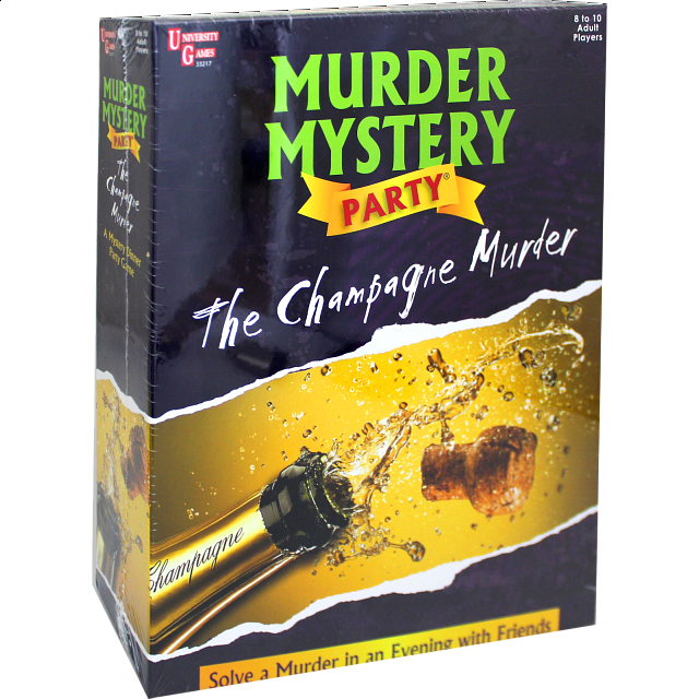Murder Mystery Party - The Champagne Murder - from $34.99