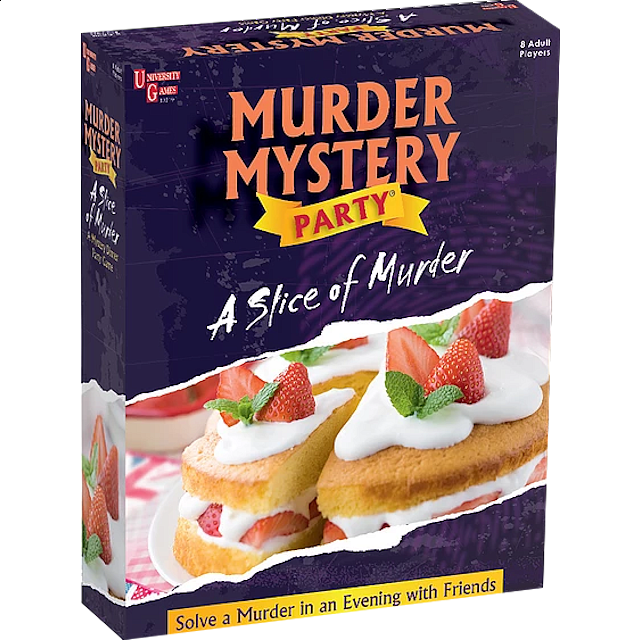 Murder Mystery Party - A Slice of Murder - from $34.99