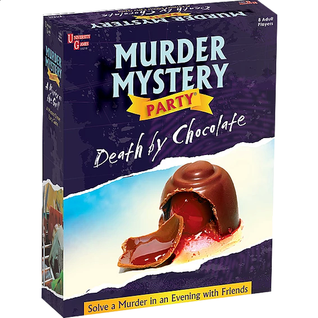 Murder Mystery Party - Death by Chocolate - from $34.99
