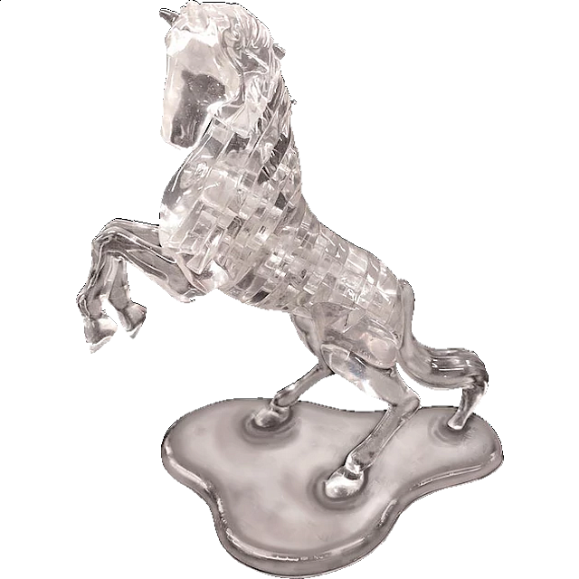 3D Crystal Puzzle Deluxe - Stallion - from $28.99