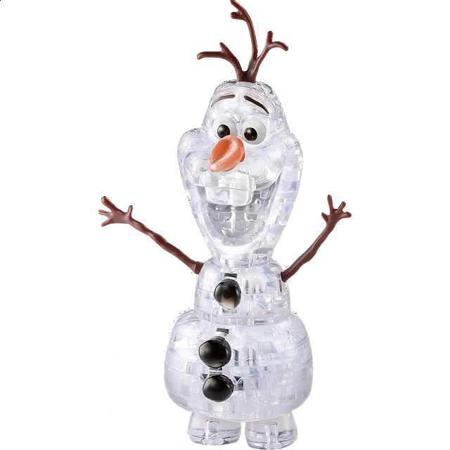 How to make Frozen Olaf Origami step by step tutorial instruction ... | 640x640
