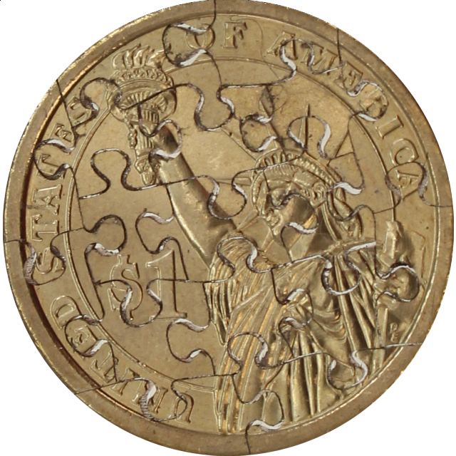 Jigsaw | Puzzle | Piece | Small | Coin