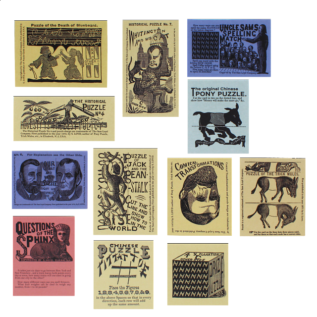 Sam Loyds Puzzle Card Collection