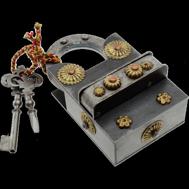 15 Step Extreme - 2 Key Puzzle Lock