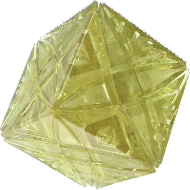 Rex Cube Diy - Ice Goldish Yellow Body (limited Edition)