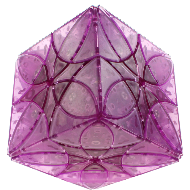 Butterflower Cube Diy - Ice Purple Body (limited Edition)