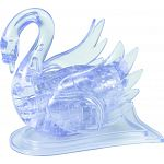 3D Crystal Puzzle - Swan - Clear