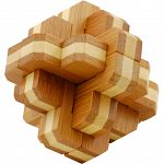 Bamboo Wood Puzzle - Bloom