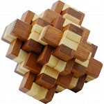 Bamboo Wood Puzzle - Pineapple