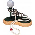 Golf Tee - 3D Wooden String Puzzle