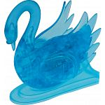 3D Crystal Puzzle - Swan - Blue