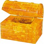3D Crystal Puzzle - Treasure Chest (Gold)