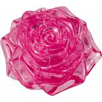 3D Crystal Puzzle - Rose - Pink